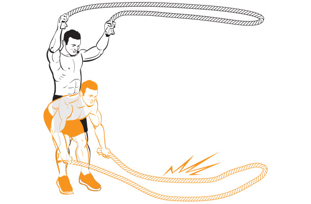 personal trainer - Sydney  - Battle Ropes