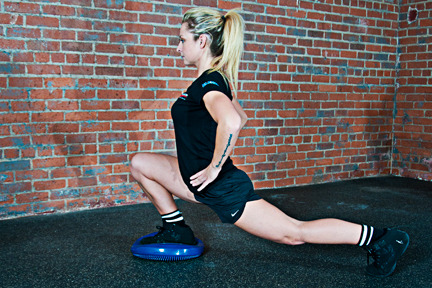 personal trainer - Sydney  - Front Foot Elevated Split Squats