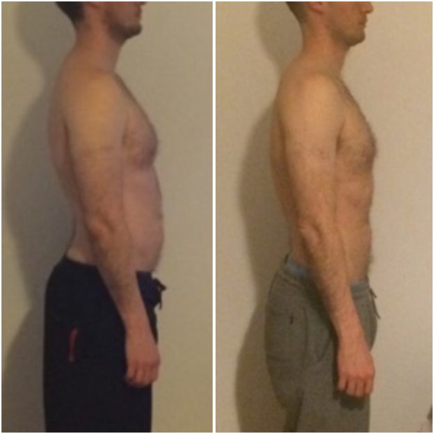 personal trainer - Sydney -Rob – Dropped body fat